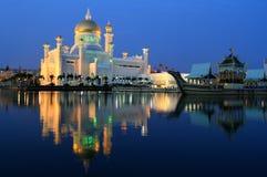 Mezquita de Omar Ali Saifuddin del sultán Fotografía de archivo