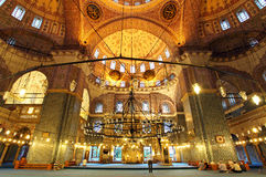 Mezquita de oro - Yeni Camii Fotos de archivo