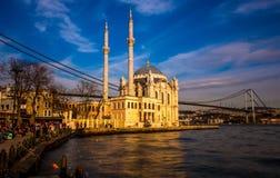 Mezquita de Ortaköy Fotografía de archivo libre de regalías
