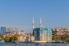 Mezquita de Ortakoy Imagen de archivo