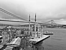 Mezquita de Ortakoy Imagen de archivo libre de regalías