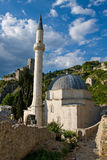 Mezquita de Pocitelj Foto de archivo