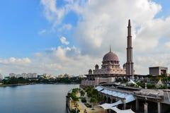 Mezquita de Putra Foto de archivo