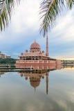 Mezquita de Putrajaya Foto de archivo