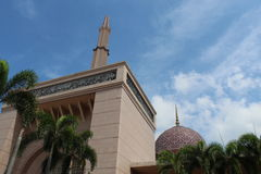 Mezquita de Putrajaya Imagen de archivo libre de regalías