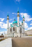 Mezquita de Qolsharif en Kazán Fotografía de archivo libre de regalías