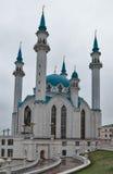 Mezquita de Qolsharif en Kazán el Kremlin, Rusia Fotos de archivo libres de regalías