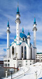 Mezquita de Qolsharif en Kazan Kremlin Foto de archivo libre de regalías