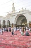 Mezquita de Quba, primera mezquita foto de archivo