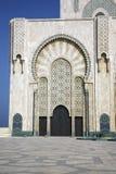 Mezquita de rey Hassan II Imágenes de archivo libres de regalías
