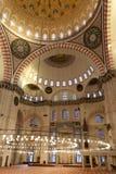Mezquita de Süleymaniye foto de archivo libre de regalías