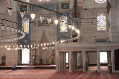 Mezquita de Süleymaniye Foto de archivo