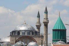Mezquita de Selim en el Mevlana Fotos de archivo