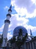 Mezquita de Shah Alam Fotos de archivo