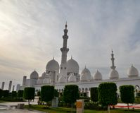 Mezquita de Sheikh Zayed en Abu Dhabi Imagenes de archivo