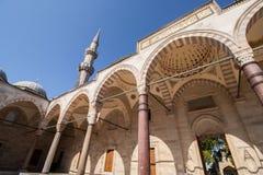Mezquita de Suleiman imagen de archivo libre de regalías