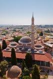 Mezquita de Suleiman de la señal de Rodas Fotos de archivo libres de regalías