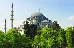 Mezquita de Suleiman en Estambul Foto de archivo