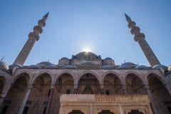 Mezquita de Suleimania Foto de archivo libre de regalías