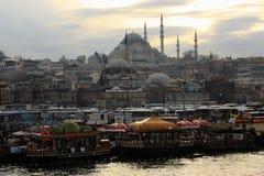 Mezquita de Suleymaniye Foto de archivo