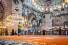 Mezquita de Suleymaniye Imagen de archivo libre de regalías
