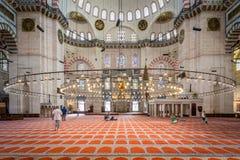Mezquita de Suleymaniye Fotos de archivo libres de regalías