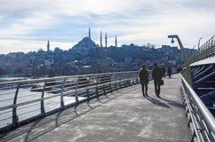 Mezquita de Suleymaniye Imagenes de archivo