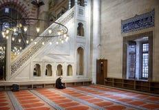 Mezquita de Suleymaniye en Estambul Turquía Foto de archivo libre de regalías