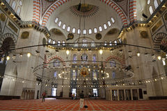 Mezquita de Suleymaniye, Estambul, Turquía Imagen de archivo