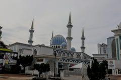 Mezquita de Sultan Ahmad Shah en Kuantan foto de archivo libre de regalías