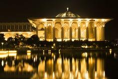 Mezquita de Sultan Mizan Mosque o del hierro Fotografía de archivo