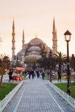Mezquita de Sultanahmet en Estambul, Turquía fotos de archivo