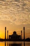 Mezquita de Tailandia Fotos de archivo libres de regalías