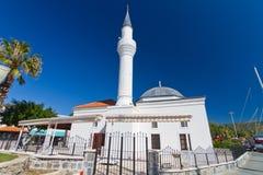 Mezquita de Tepecik, Bodrum Fotos de archivo libres de regalías