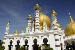Mezquita de Ubudiah en Kuala Kangsar, Perak Imagenes de archivo