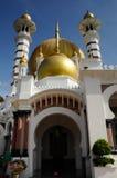 Mezquita de Ubudiah en Kuala Kangsar, Perak Foto de archivo libre de regalías