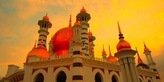 Mezquita de Ubudiah, Kuala Kangsar, Perak, Malasia Imagenes de archivo