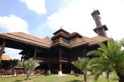 Mezquita de Ulul Albab (Masjid Kayu Seberang Jertih) en Terengganu Fotos de archivo libres de regalías