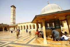 Mezquita de Umayyad Fotos de archivo libres de regalías