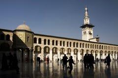 Mezquita de Umayyad en Damasco, Siria Fotografía de archivo