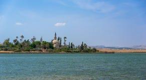 Mezquita de Umm Haram, Larnaca, Chipre Fotos de archivo libres de regalías