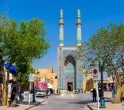 Mezquita de viernes de Yazd imagen de archivo