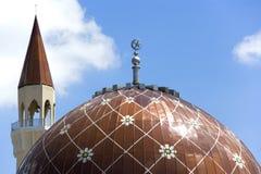 Mezquita de Wangsa Maju Imagen de archivo libre de regalías
