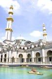 Mezquita de Wilayah Persekutuan Imagenes de archivo