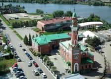 Mezquita de Zakabannaya, la mezquita del 1000o aniversario del Islam fotografía de archivo