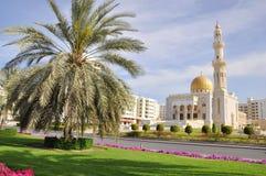 Mezquita de Zawawi - moscatel, Omán Fotografía de archivo