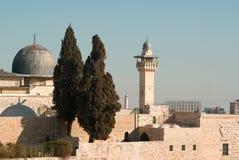 Mezquita del al-Aqsa Fotografía de archivo libre de regalías