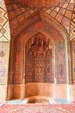 Mezquita del al-Mulk de Nasir, Shiraz, Irán Imágenes de archivo libres de regalías