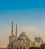 Mezquita del al-Noor de Masjid Fotografía de archivo libre de regalías