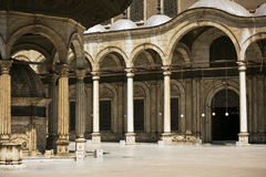 Mezquita del alabastro Imágenes de archivo libres de regalías